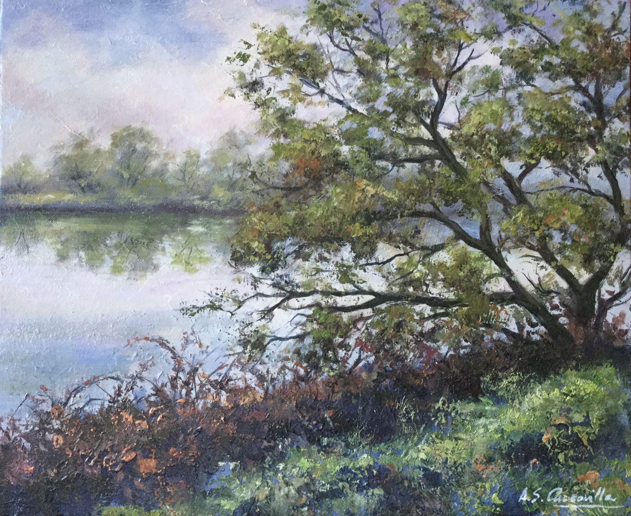 Orilla del Ebro en febrero I