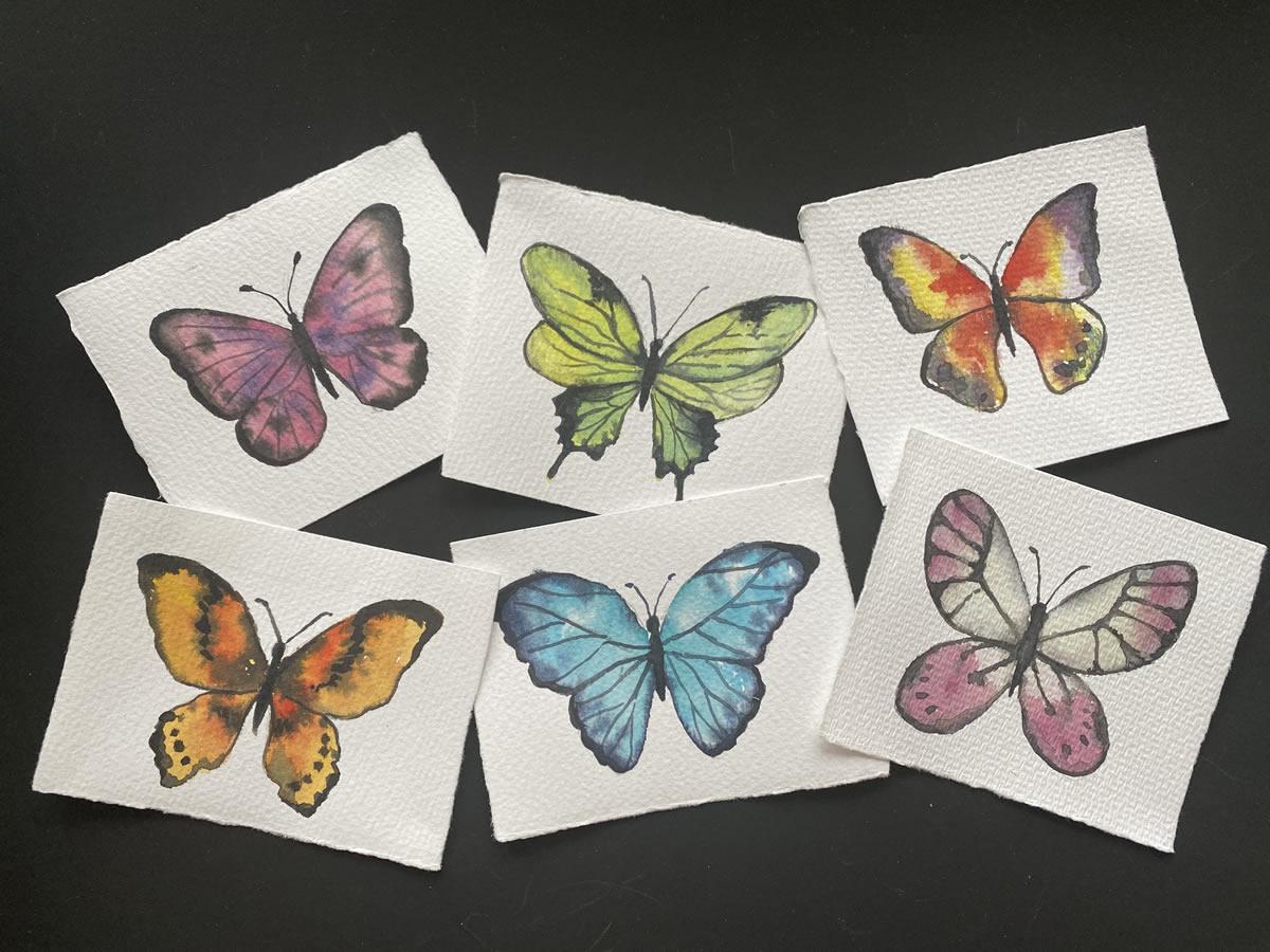 Mini mariposas